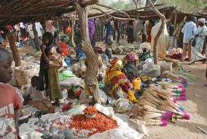 Scène de marché à Dogondoutchi