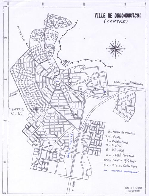Plan de Doutchi
