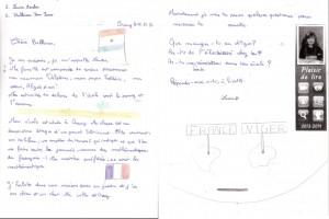 lettre de Laura